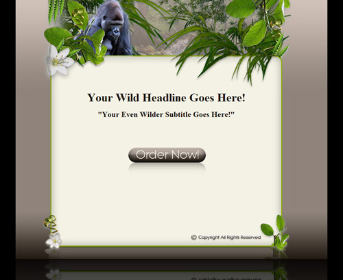 Product picture Wildlife Template
