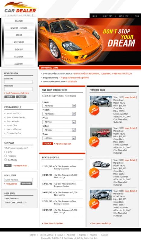 Product picture Built Car Dealer